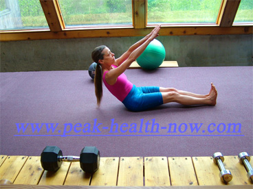 Abdominal exercises flatten belly muscles