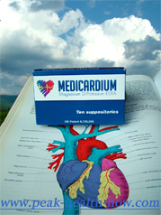 Medicardium EDTA Chelation suppositories - get rid of heavy metals to help food allergies
