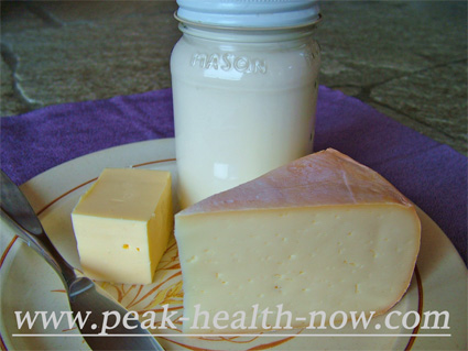 Raw dairy from pasture raised cows.