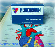 Medicardium EDTA chelation suppositories