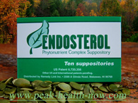 Endosterol Phytonutrient Complex detox suppositories for hormonal balance