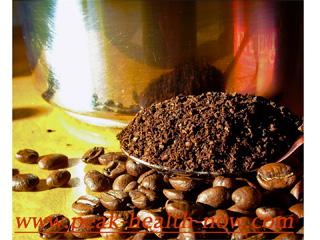 Enema coffee - light roast from health store.
