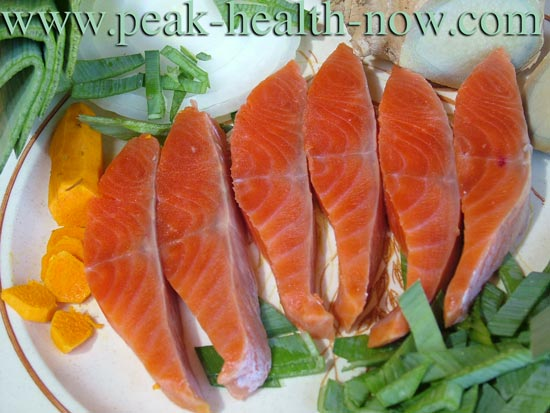 Wild-caught salmon for omega-3's