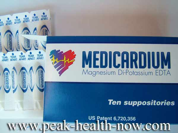 Medicardium EDTA Chelation Suppositories are easy and convenient to use!