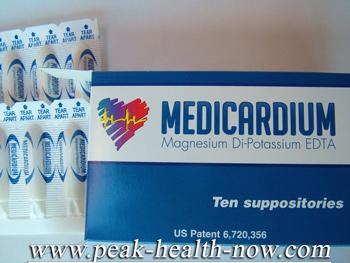 Medicardium EDTA Chelation suppositories