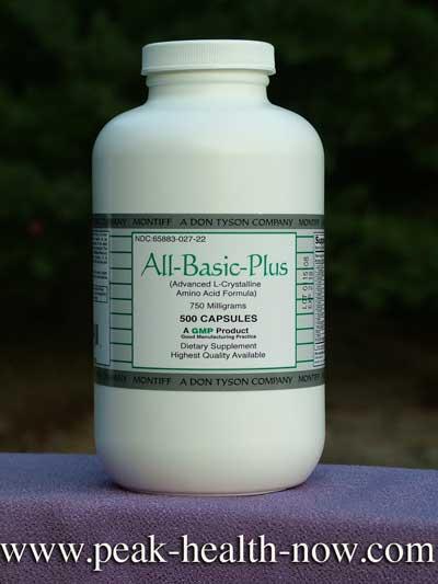 BEST Oral Chelation - full-spectrum Montiff Amino Acids