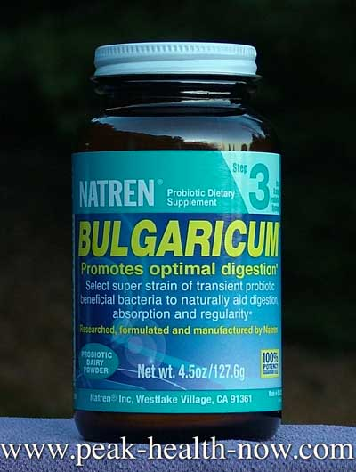 Natren Probiotics Bulgaricum dairy-based powder 4.5oz