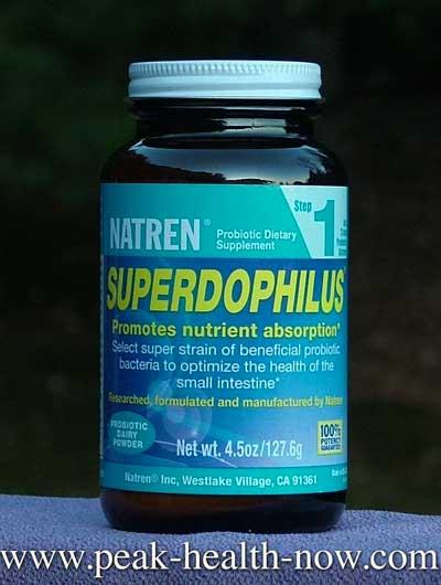 Natren Probiotic Superdophilus dairy-based powder 4.5 oz