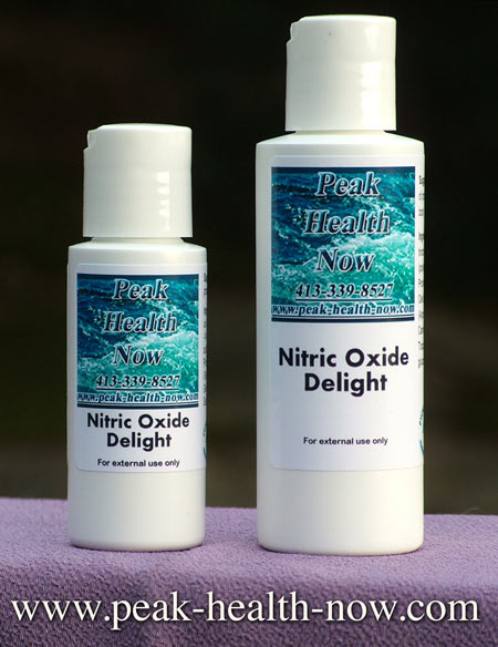 Nitric Oxide Delight transdermal lotion