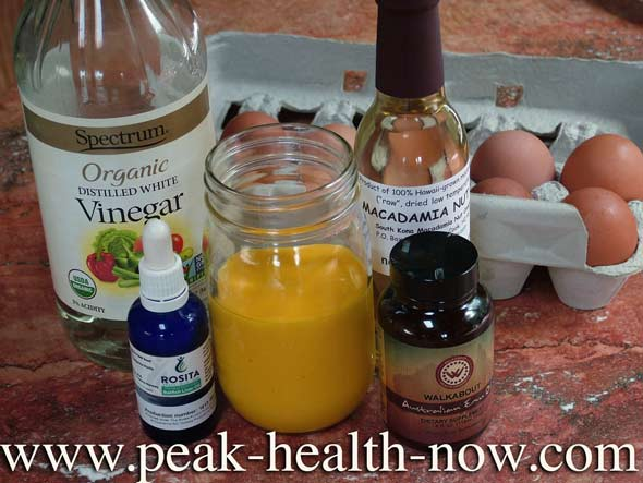 Paleo Diet Mayonnaise recipe ingredients