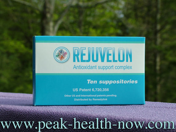 Rejuvelon antioxidant support / EDTA suppositories
