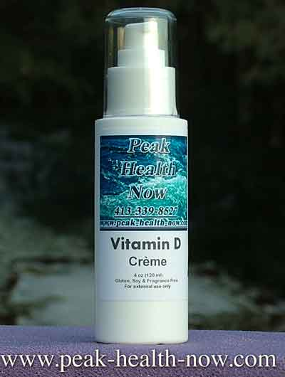 Vitamin D Lotion 4 oz 5000 per dose of 4 pumps