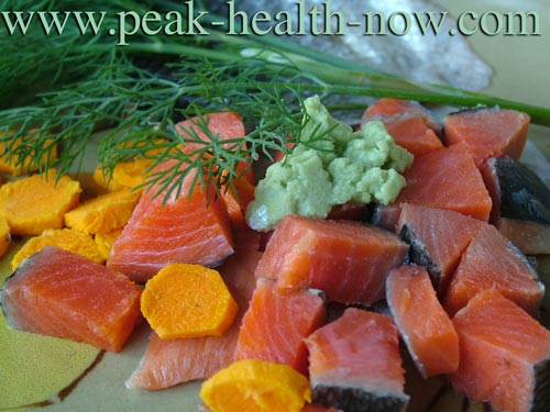Wild Salmon - delicious addiction recovery diet food!