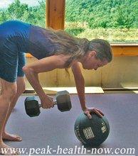 Weight training helps hormonal balance