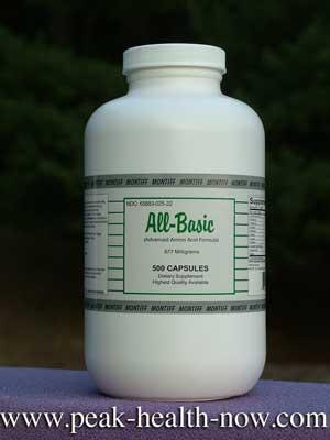 Montiff All-Basic full-spectrum amino acids