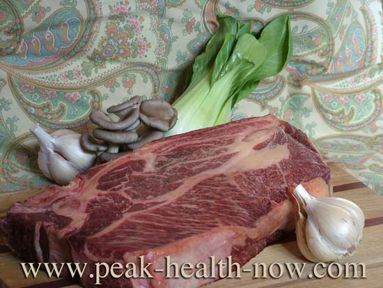 Pasture raised beef