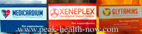 Medicardium Xeneplex Glytamins detox suppositories 3-pack