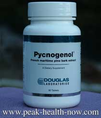 Pycnogenol convenient tablets