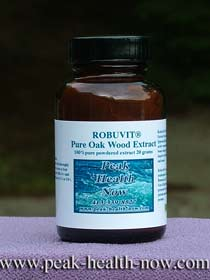 Robuvit® Oak Wood Extract pure powder 20 grams.
