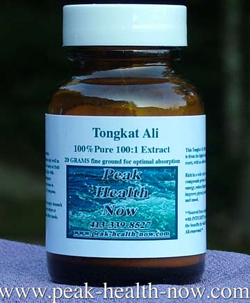 Tongkat Ali 100:1 pure extract powder - NO excipients. Male 'Rocket Fuel!'