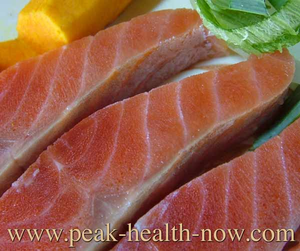 Inflammation definition - wild caught salmon is a food that helps solve the problem.